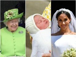 In Pictures: A decade of the royal family
