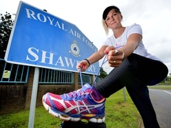 Veteran Lindsey running length of Britain at home in Shropshire for the NHS