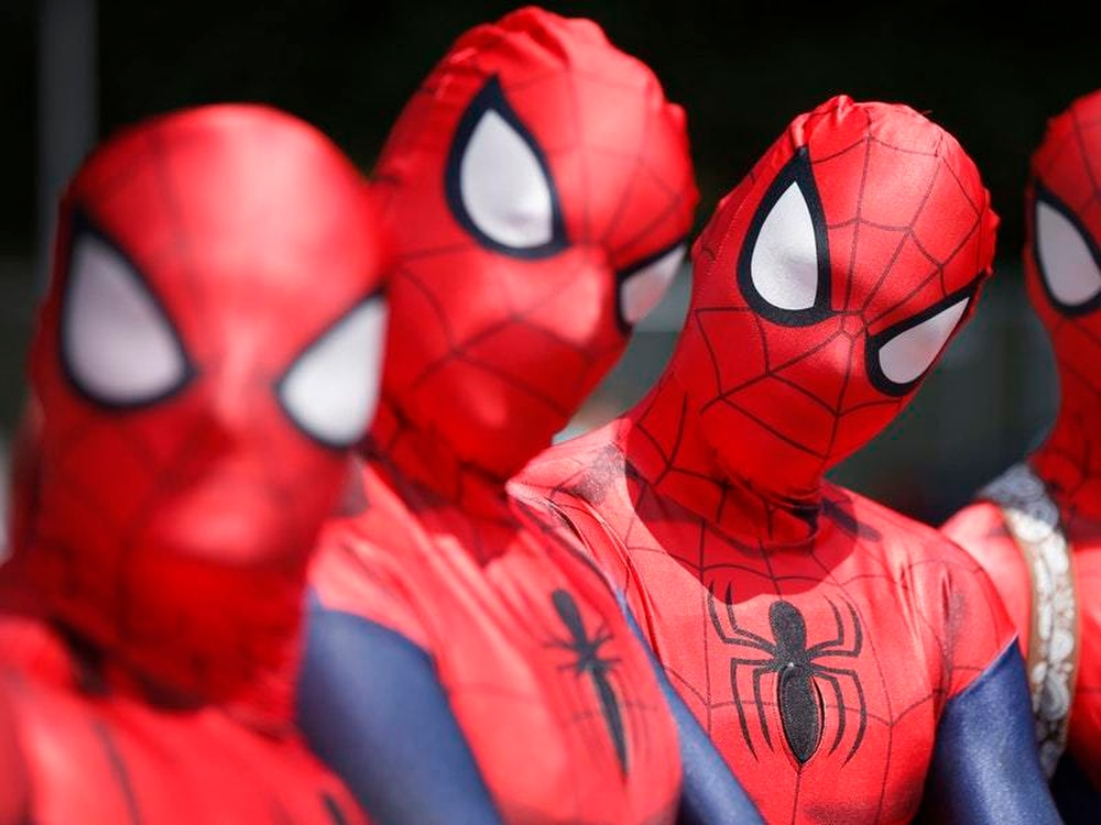 London School Accidentally Creates New Meme With Spider Man