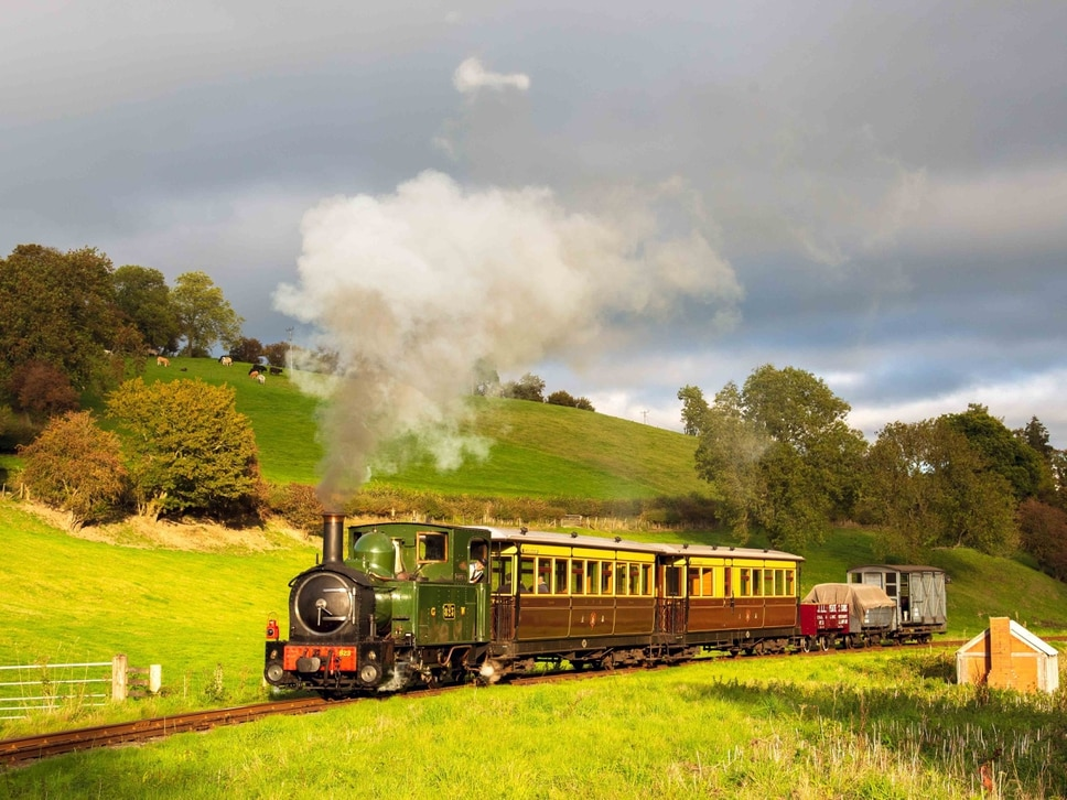 Rail line hires Austrian locomotive