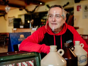 John Ellis, who owns the Crown Inn at Oakengates and the Elephant & Castle in Dawley