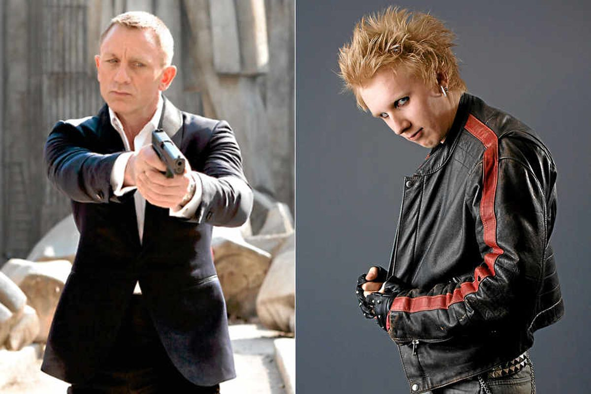 Harry Craig, right, is the younger half brother of 007 actor Daniel Craig