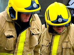 Firefighters tackle agricultural vehicle fire in Whitchurch