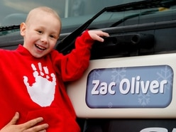 Let's back Zac: Poorly Shropshire youngster has gritter named after him - with pictures
