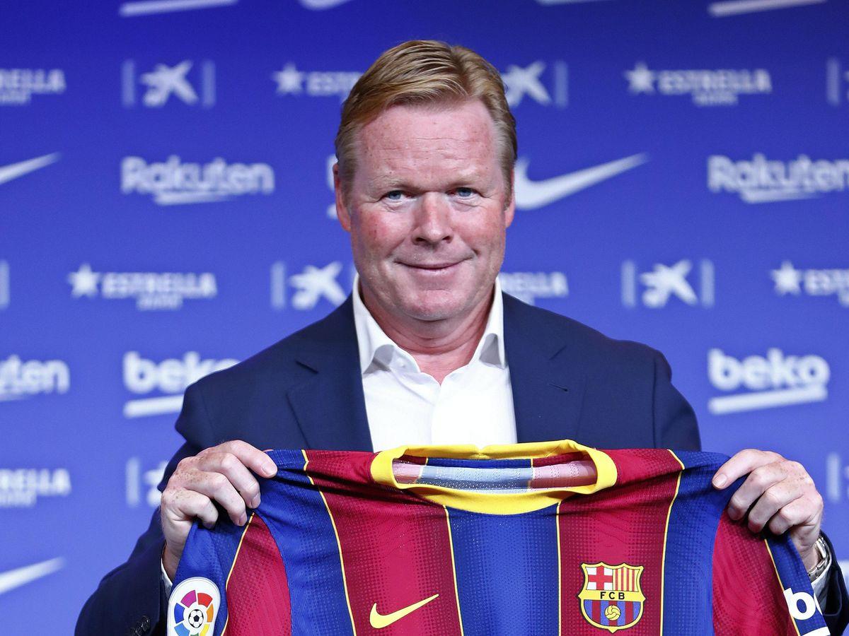 Ronald Koeman is Barcelona's new head coach after leaving Holland