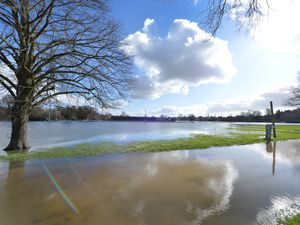 Shrewsbury and nearby villages were devastated by floods earlier this year
