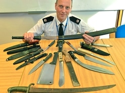260 knives surrendered during Shropshire police amnesty - with video