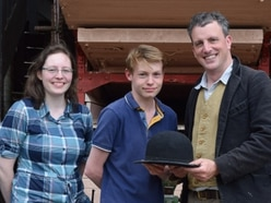 Historian and TV presenter welcomed back to farm