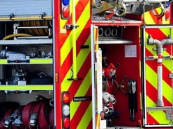 Two people treated for smoke inhalation after shed fire near Cleobury Mortimer