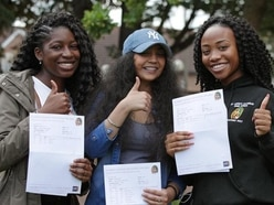 In pictures: Students celebrate A-Level results