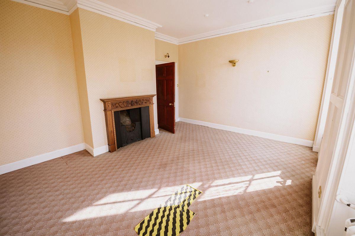 The room where Darwin was born