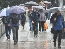 Thunder and rain set to continue over the weekend