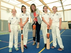 Howzat! Charlotte Edwards opens £800,000 sports centre at Oswestry School