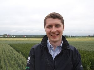 Jonathan Baxendale, Wynnstay combinable crops manager.