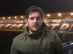 AFC Telford 4 Leamington 1: Jonny Drury analyses the win - VIDEO