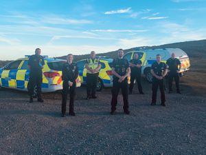 South Shropshire Police team