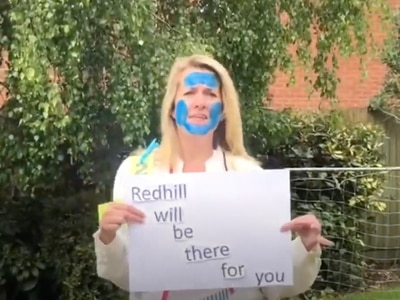 Watch: Telford primary school staff encourage pupils to 'reach for the stars' with lockdown video
