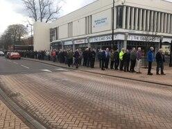 Hundreds of men line up at Telford venue for life-saving prostate cancer tests