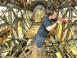 See behind the scenes at RAF Cosford conservation centre where planes are restored - with pictures