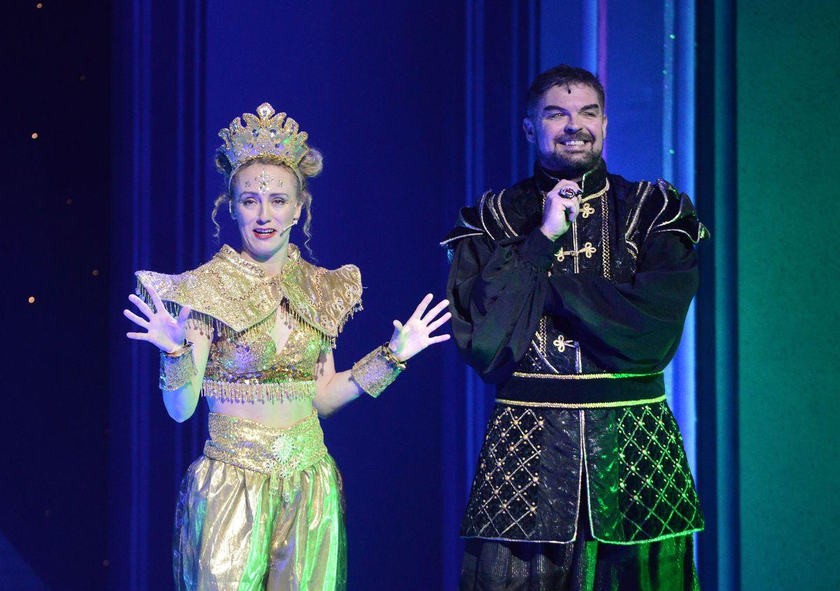 Theatre Severn's production of Aladdin