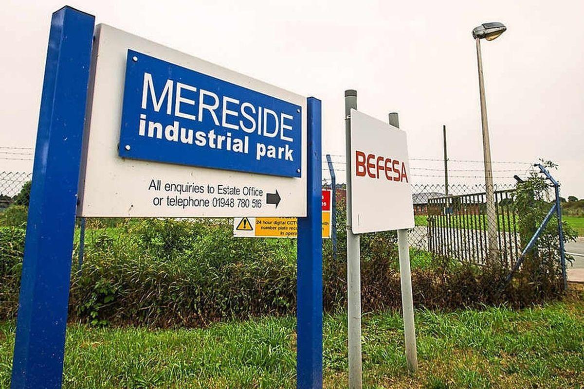 Mereside Industrial park at Fenns Bank