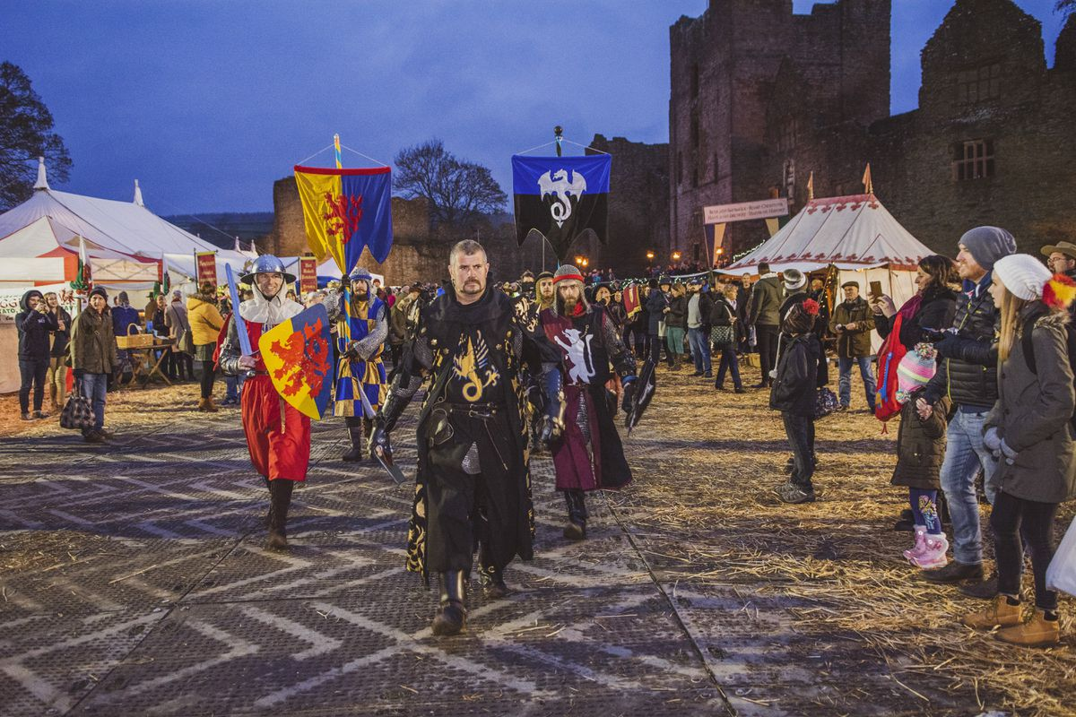 Ludlow's Medieval Christmas Fayre is going online