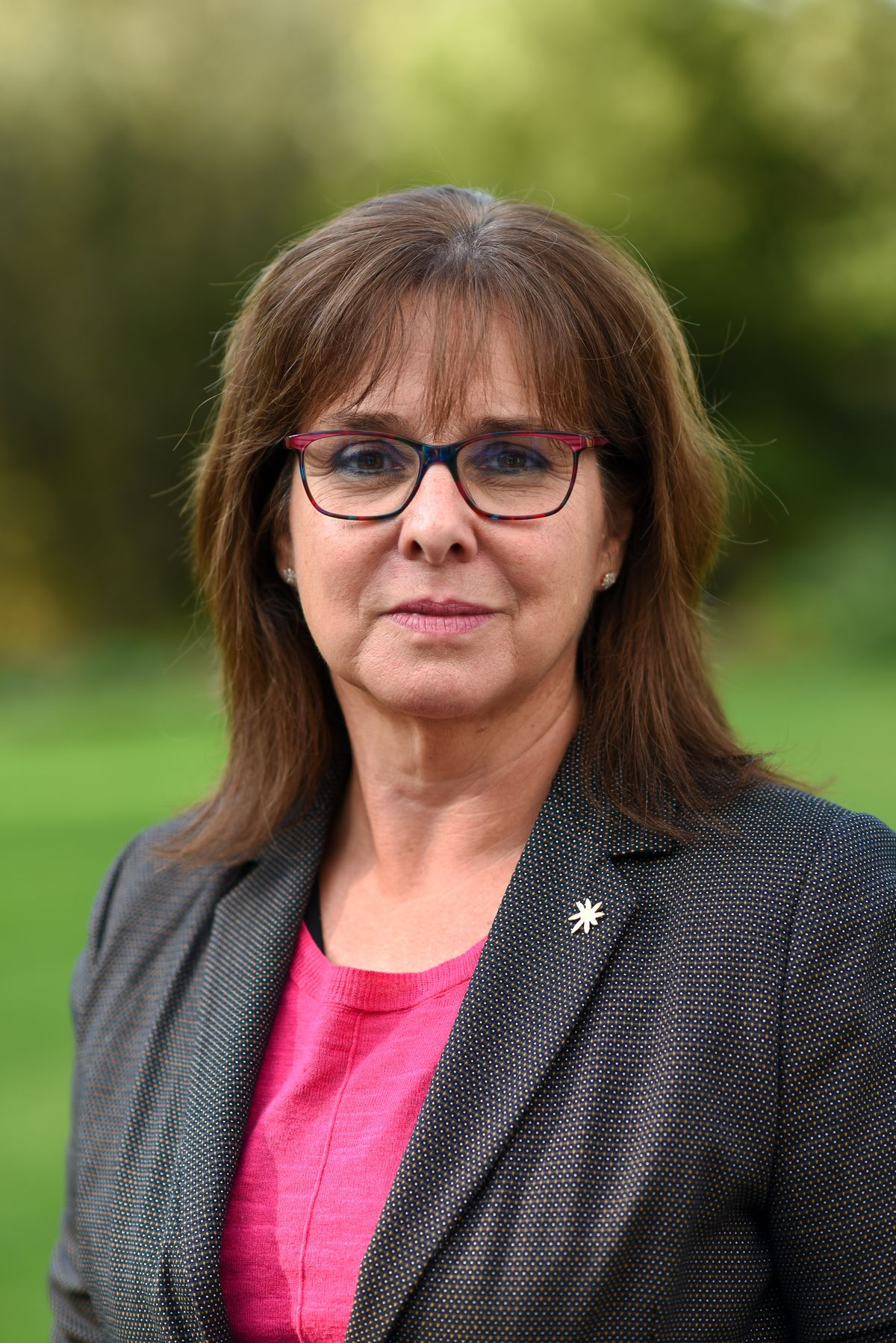 Mandy Thorn MBE, chair of the Marches LEP