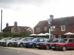 Behind the wheels of legends: Driving BMW's heritage models