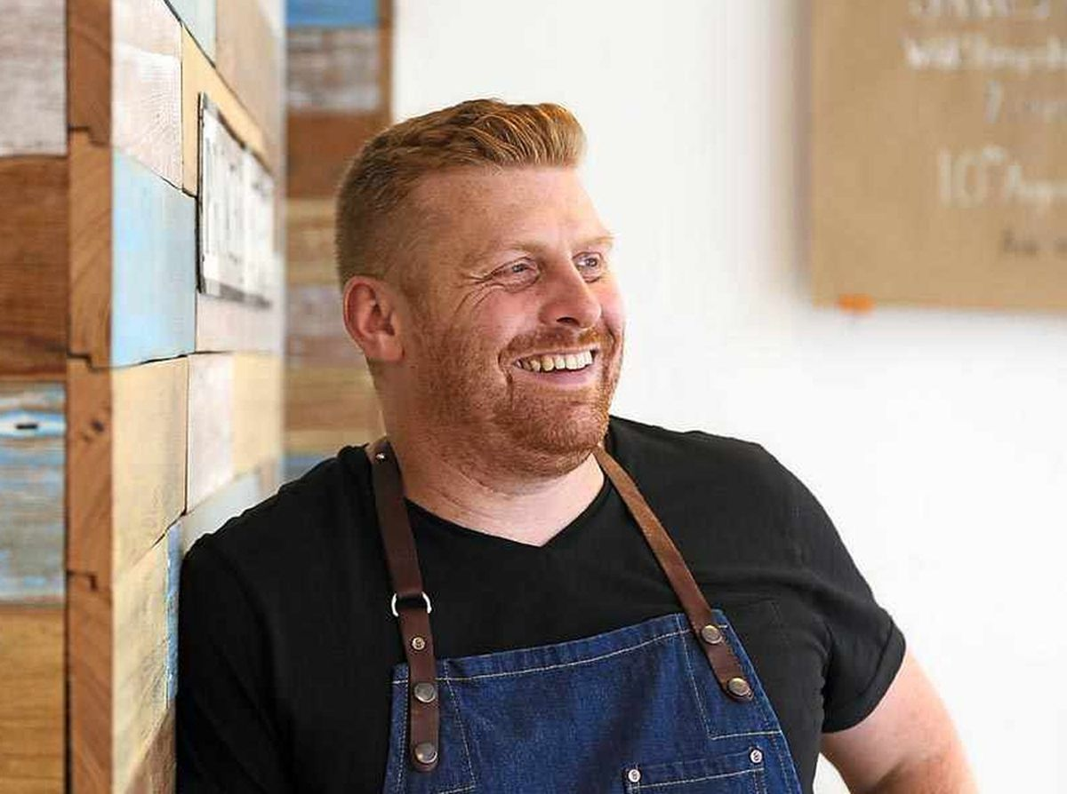 James Sherwin, owner and chef of Wild Shropshire in Ternhill which has been crowned restaurant of the month by Love British Food