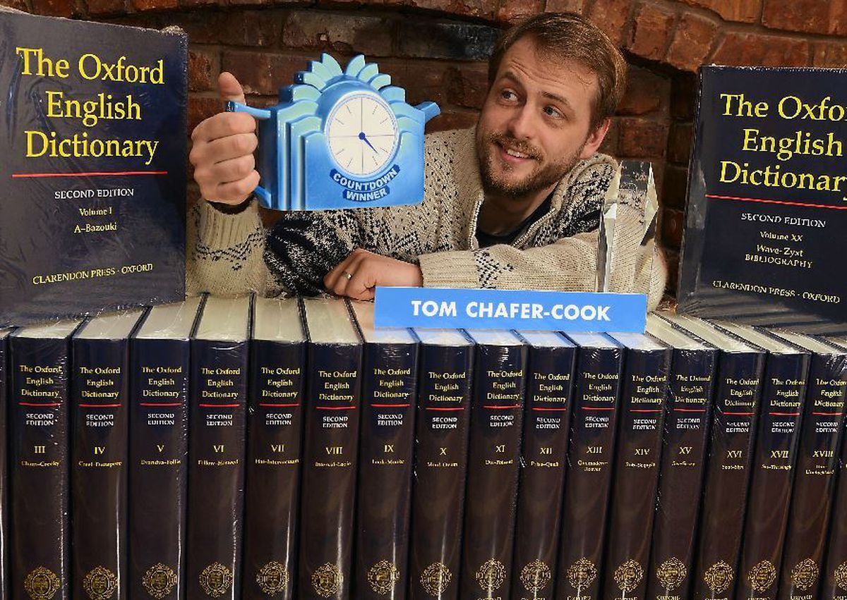 Shropshire software developer Tom Chafer-Cook, 30, won the latest series of Channel 4's quiz showCountdown