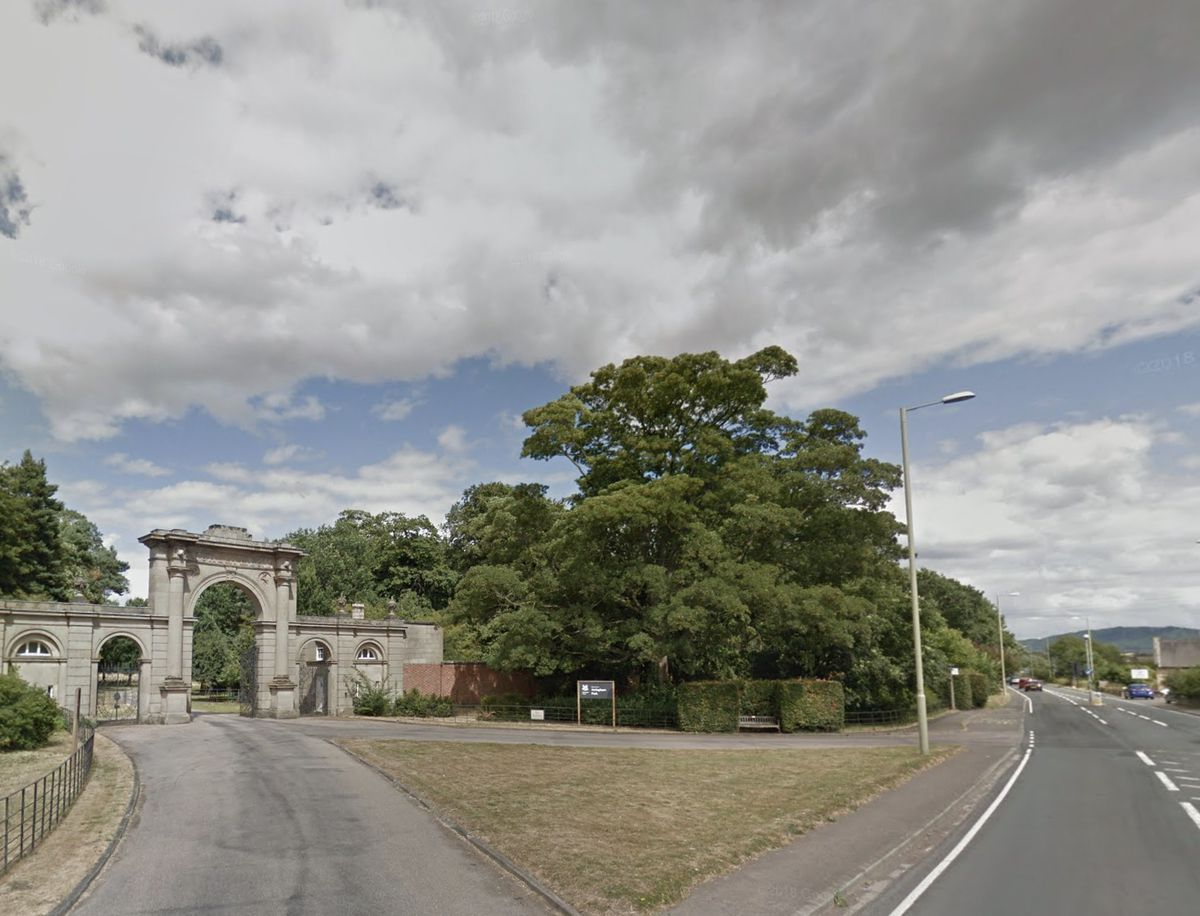 The crash happened near the entrance to Attingham Park. Photo: Google StreetView.