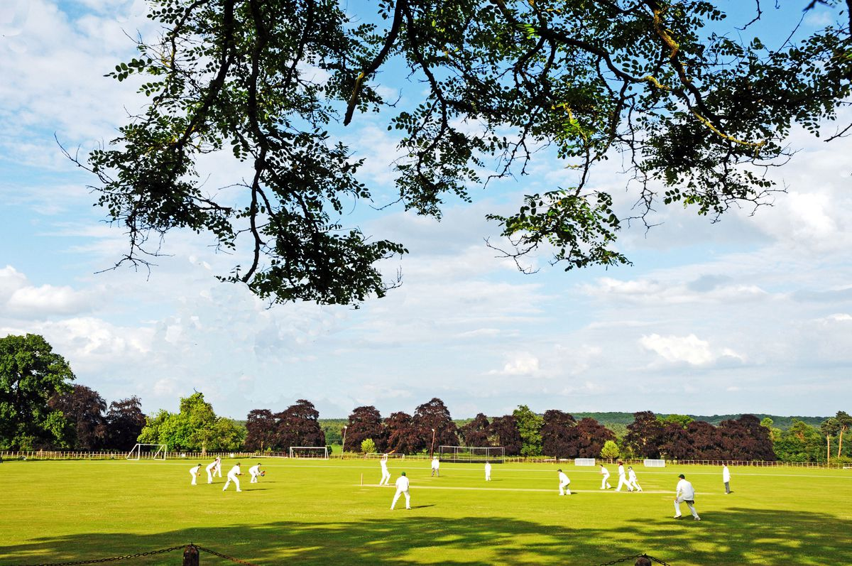 The beautiful Enville Cricket Ground in South Staffordshire where in 1870 the great cricketer W G Grace played. Photo: Graham Gough