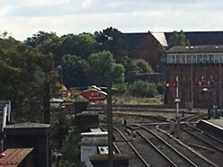 Woman hit by a train at Shrewsbury Railway Station