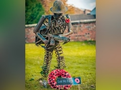 Solved: Mystery soldier sculpture was work of late Telford artist