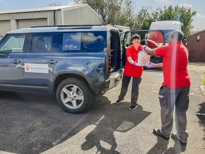 Jaguar Land Rover deploys 150 additional vehicles to support global coronavirus response effort