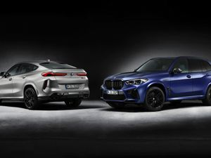 BMW X5 and X6 M Competition First Edition