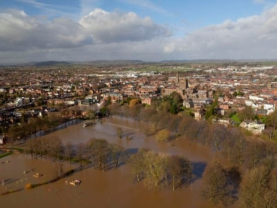 Flood risk remains as Storm Dennis rain swells rivers to 'exceptional' levels