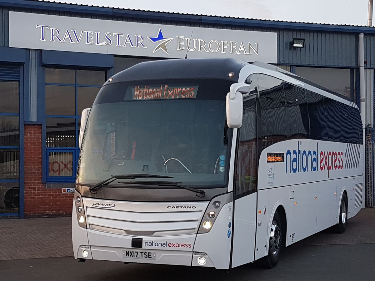 National Express operates services across the region