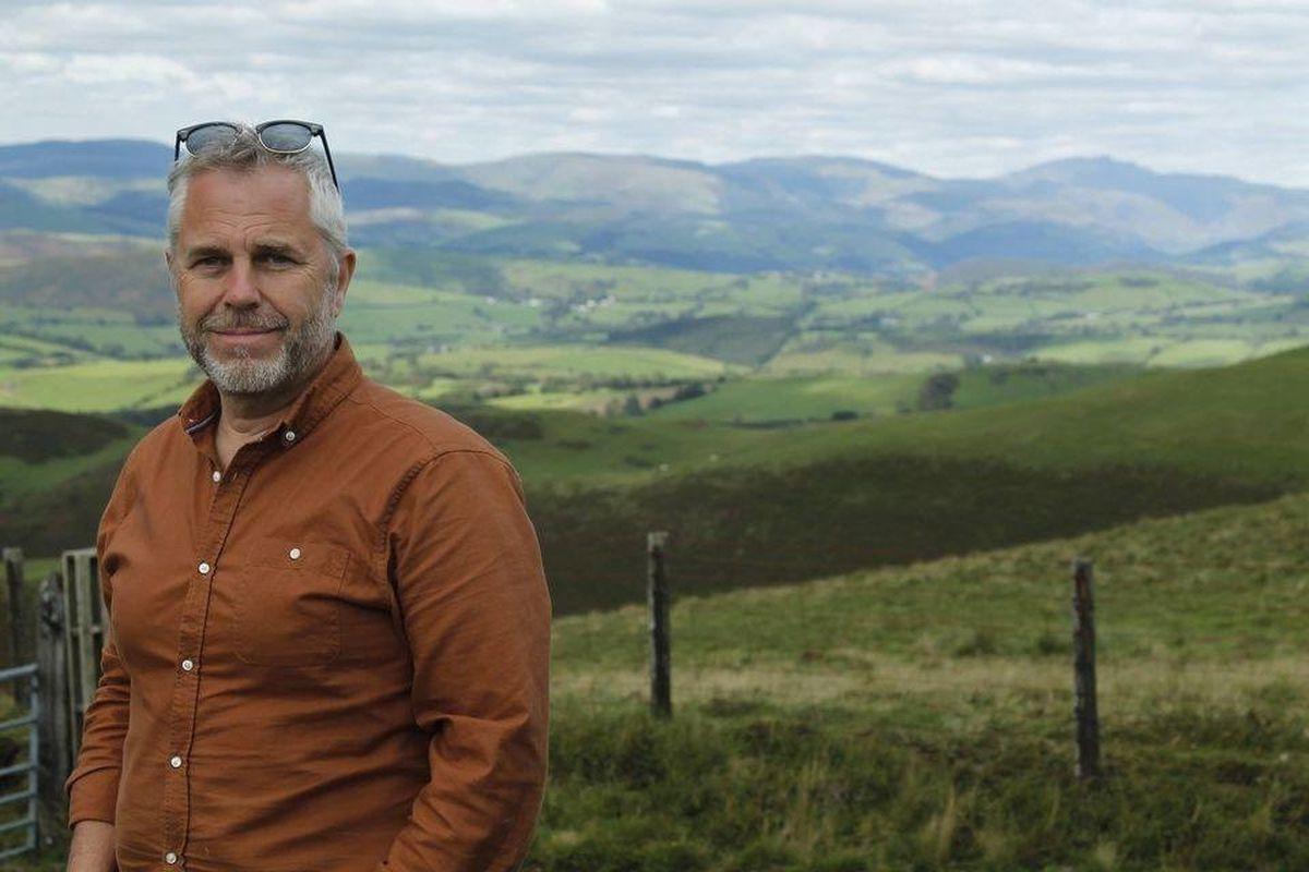 Elwyn Vaughan - Plaid Cymru canidate for Montgomeryshire