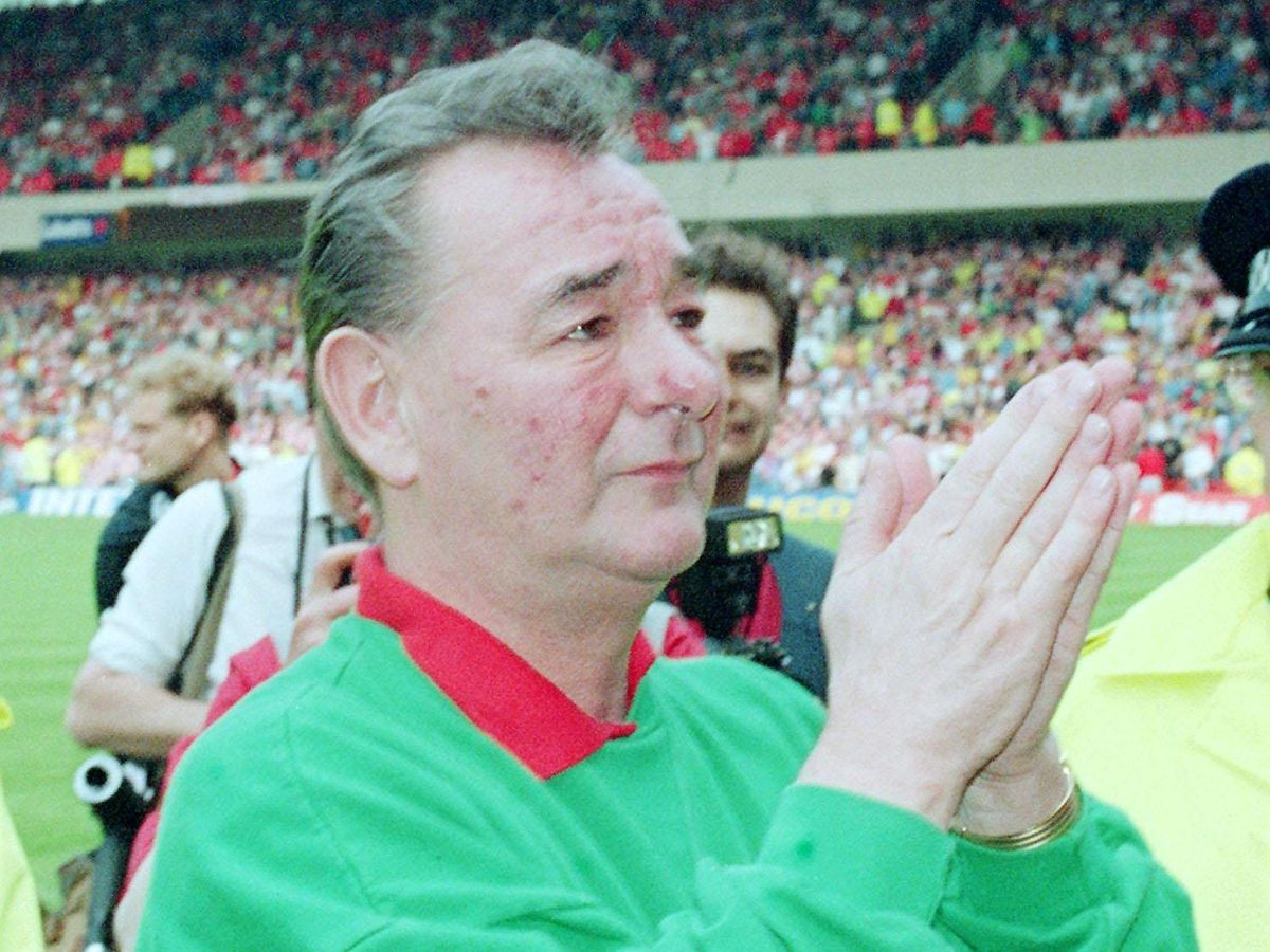 Brian Clough spent 18 years as Nottingham Forest's manager