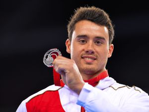 Olympic gymnast Kristian Thomas