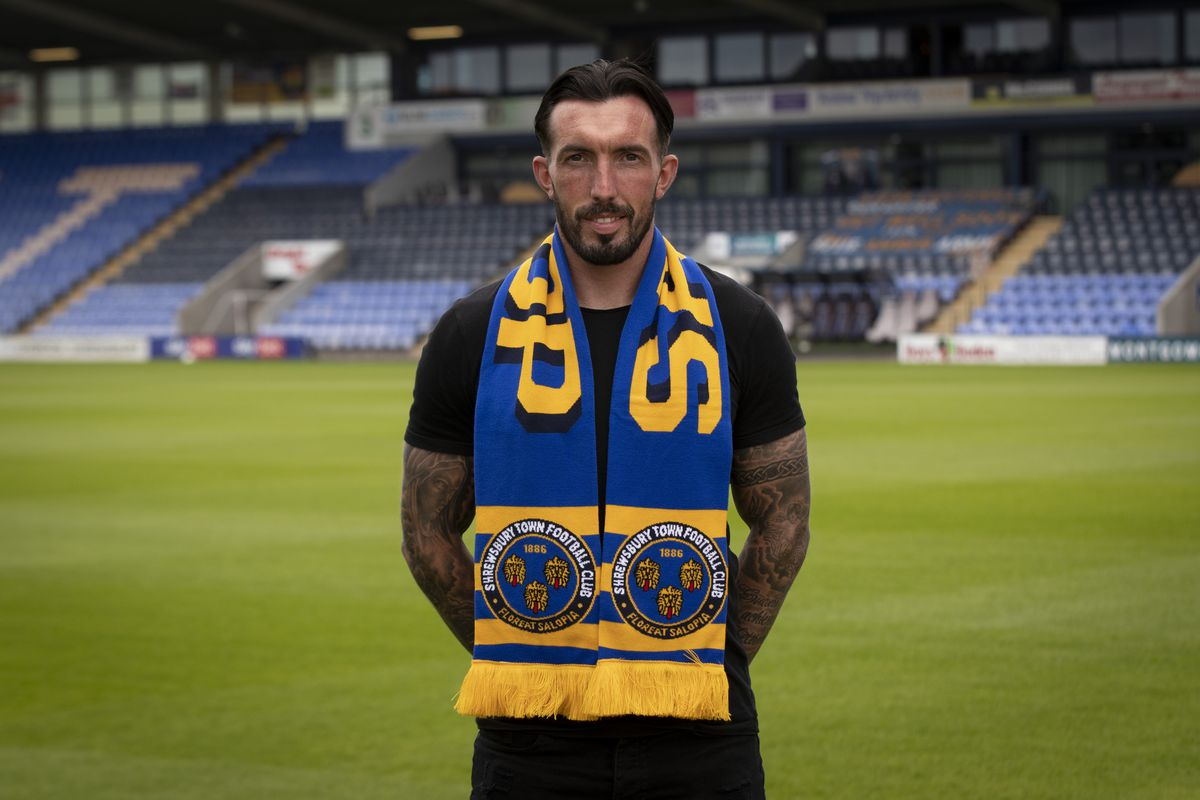 Shrewsbury Town unveil new signing Ryan Bowman (Picture: AMA)
