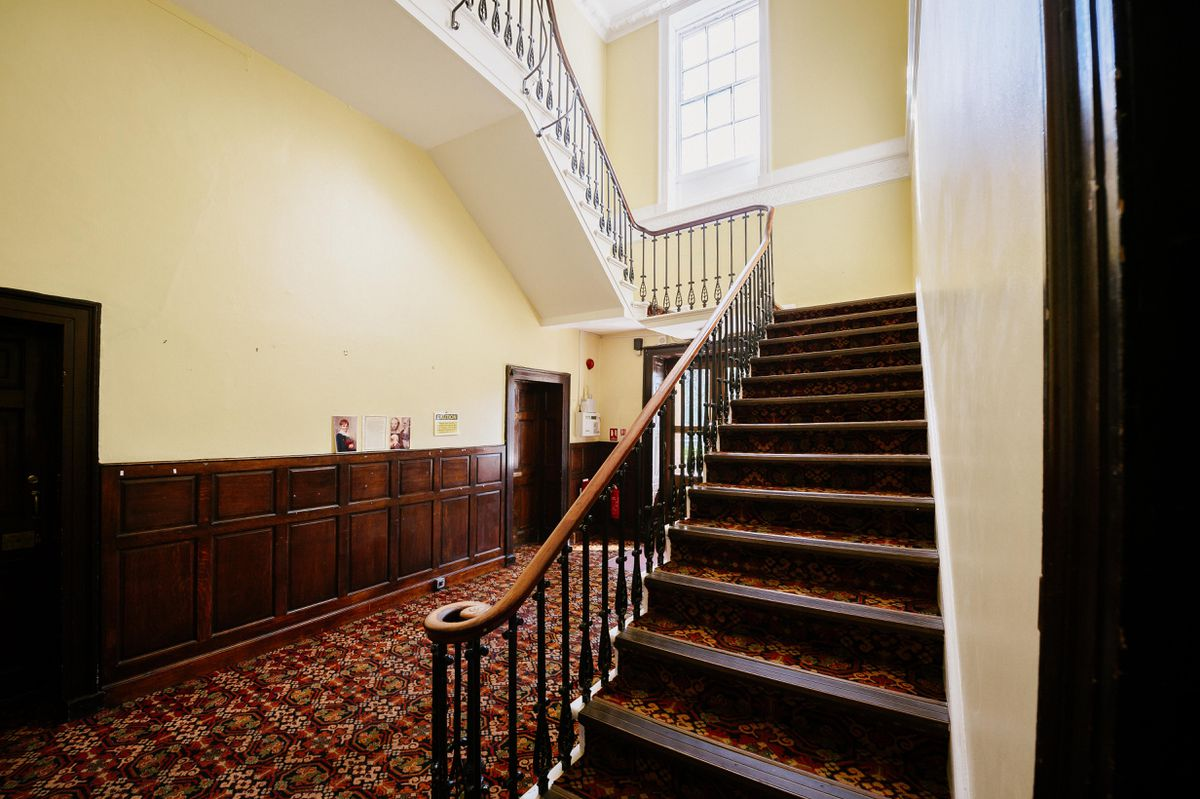 The entrance hall of Mount House
