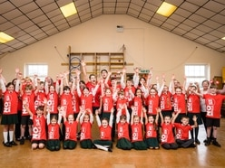 Famous dancing brothers launch Sport Relief campaign at former Shropshire school