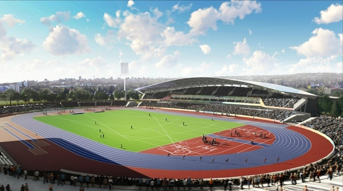 Alexander Stadium in Perry Barr will be the focal point of the 2022 Commonwealth Games