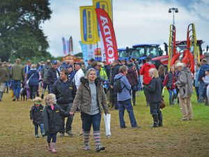 The crowds are back for Minsterley Show