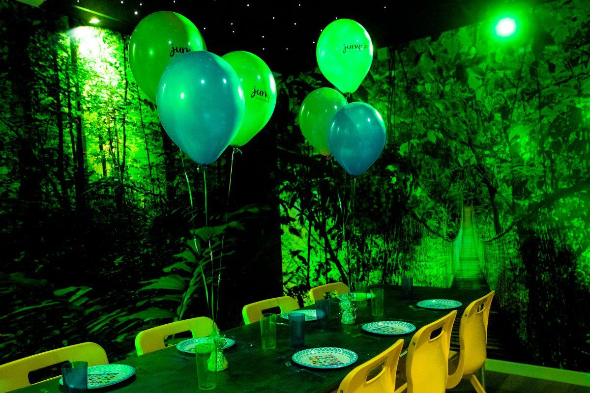 Jump In Trampoline Park parties