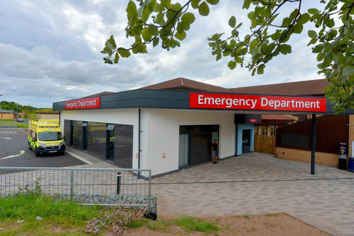 The A&E at Princess Royal Hospital, Telford