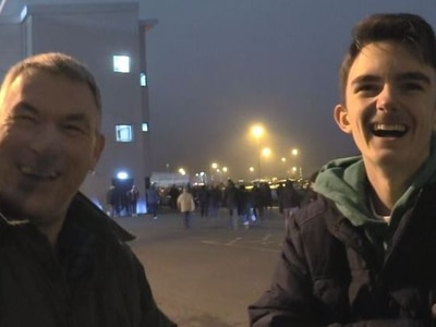 'We want a big team don't we!' Shrewsbury fans react after the victory over Mansfield - WATCH