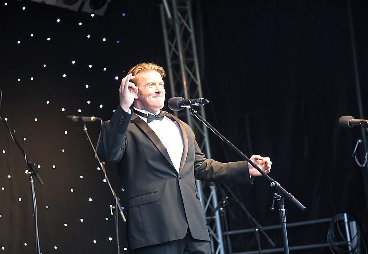 Operatic tenor Jack Foley will return to the event